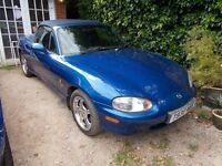 Mazda MX5 mx 5 mx-5 Mk2 Limited edition ' 10th Anniversary '. Lovely car inside and out. Drives A1.