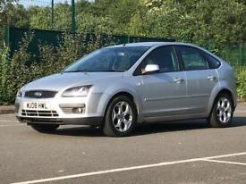 2008 (Mar 08) FORD FOCUS 1.6 ZETEC CLIMATE - Hatchback 5 Door - Petrol - Manual - SILVER *MOT/PX WEL