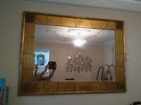 gorgeous gold JOHN LEWIS mirror