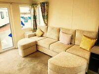 😀Modern SUPER caravan with a payment option at Sandy Bay Holiday Park with NEW 5* facilities😀😀
