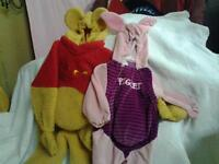 Winnie the Pooh and Piglet Costume