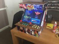 Bar top arcade machine
