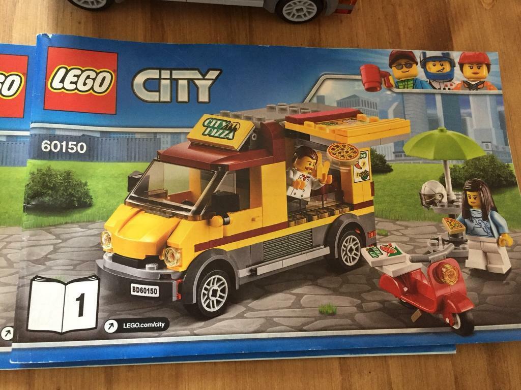 Lego City Pizza Van 60150 In Plymouth Devon Gumtree