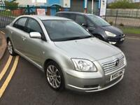 Toyota avensis 2003 03 plate 1.8 vvti 5 foot hatchback alloy wheels mot