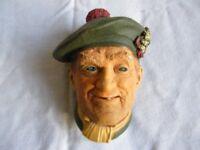 Bossons 'Jock' character head