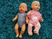 Baby born and baby annabelle bundle