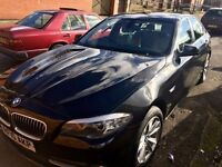 Just £7999 for this new shape 2010BMW 520D SE 4dr in Black metallic.FULL SERVICE HISTORY.