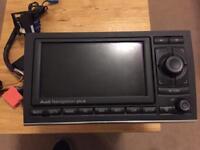 Audi A4 Rns-e Sat Nav Head unit GPS DVD Double Din