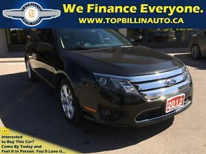 2012 Ford Fusion SE, LEATHER, LOW Kilometers