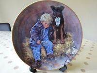 Collectable Decorative Pair of Plates - The Leonardo Collection.