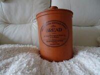 terracotta bread crock - potato crock