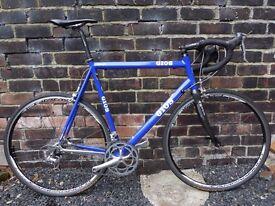 Gios A90 18speed Italian Handbuilt Fast Road Bike XXL63cm Aluminium Shimano Ultegra Gears Campagnolo