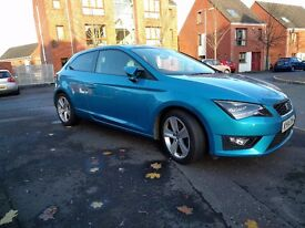 SEAT Leon 2.0 TDI CR FR (Tech Pack) SportCoupe 3dr (start/stop) DSG Seat Sound Upgrade ACC 2014