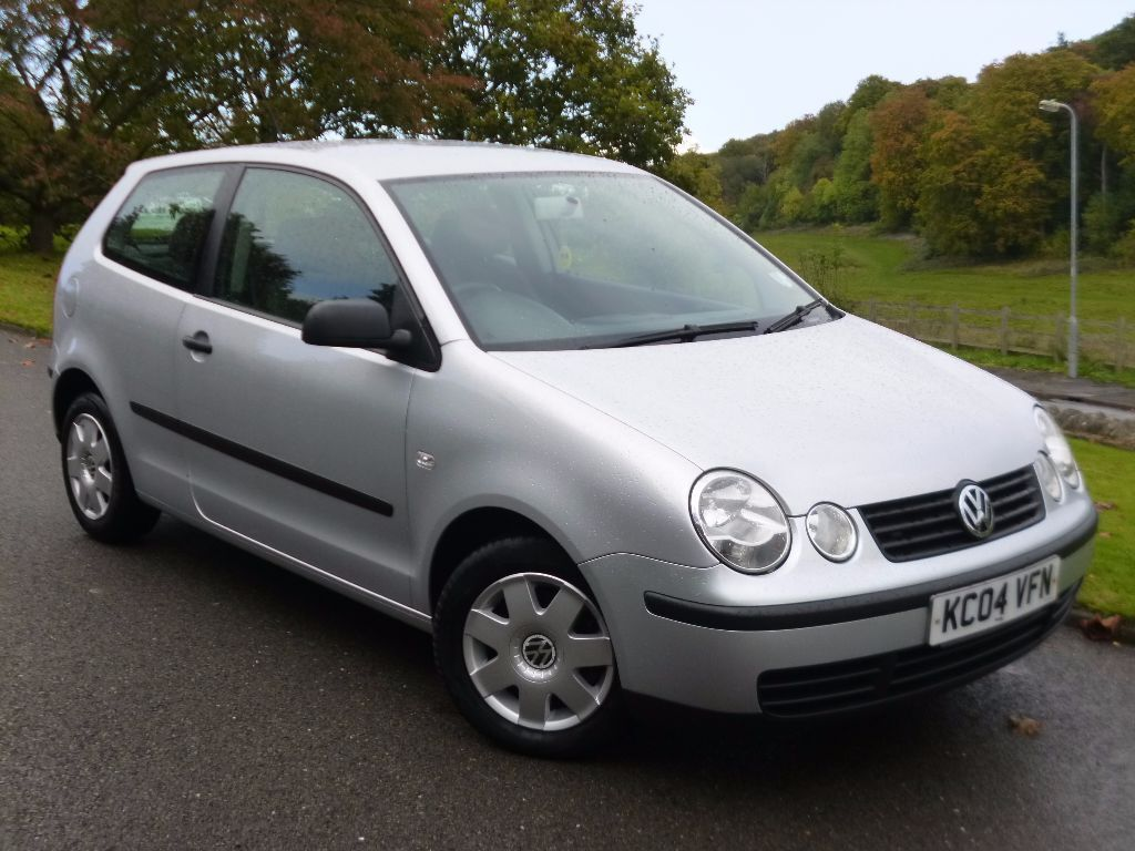 2004 volkswagen vw polo silver 1 2 twist 3dr hatchback. Black Bedroom Furniture Sets. Home Design Ideas