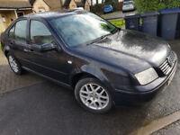 VW Bora 1.9 Highline PD 130, 156k, MOT, 2 Keys, Full Leather, BBS Alloys, Service History £1495 ovno