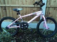 Girls Bike Dulcis Freestyle in Pink