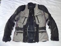 HEIN GERICKE gore-tex motorcycle Jacket size 54