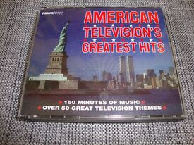 American Television's Greatest Hits. Double CD. Soundtracks / Themes.