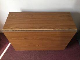 Large folddown table