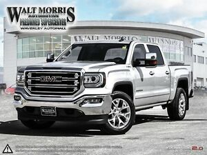 2017 GMC Sierra 1500 SLT - 6.2L, LEATHER, REAR VIEW CAMERA