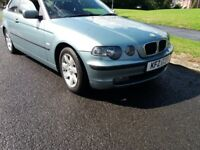 BMW 320 td se Compact (AUTOMATIC) 3 dr mint seats and carpet great cond real eye catcher rare find
