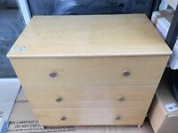 **PAIR** - IKEA Malm matching 3 & 6 Draw - Chest of Drawers - SOLD