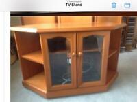 Teak TV stand