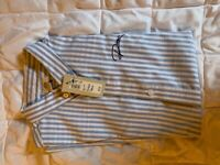 Boys River Island trousers and short sleeved shirt