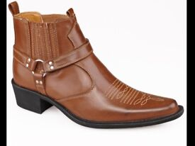Mens Cowboy/Western Boots size 6,7,8,9,10,11,12 available, new in box