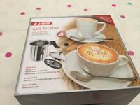 Brand new boxed Milk frother & Sauce pot by Judge