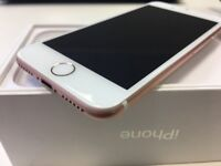 Apple iPhone 7 - 32GB - Rose Gold Edition - Network Unlocked - ONLY £285- Mint Condition!