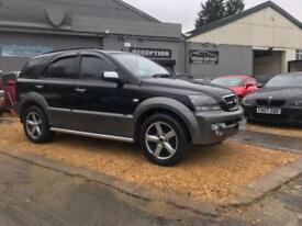 KIA SORENTO 2.5 XT CRDI 5d 139 BHP (black) 2005