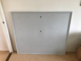 Wedding table plan board - grey wooden