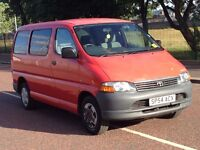 (54) Toyota Hiace 250 swb 2.5 d4d , mot - july 2017 , 6 Seater with wheel chair access ,transit