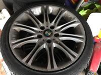 "BMW mv2 18"" alloy wheels"