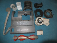 SEBO AUTOMATIC X1 - UPRIGHT VAC SPARE PARTS BUNDLE - ITEMS AS SHOWN