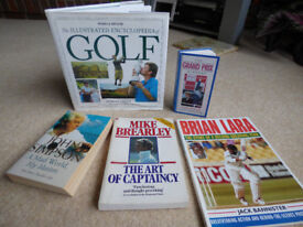 Collection of 6 Sports Books