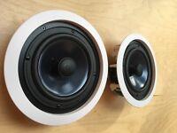 Polk Audio RC60i High Quality Ceiling Speakers - Pair