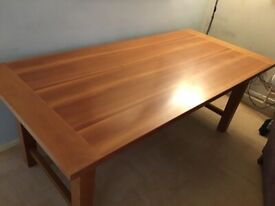 HEAL'S Large Solid Oak Dining Table