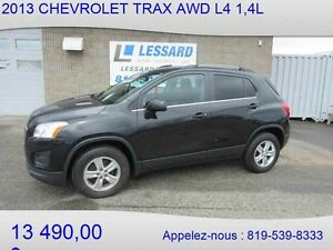 2013 CHEVROLET TRAX AWD LT Crossover