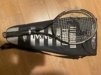 Karakal Rock Ti 300 mid size tennis racket with bag