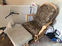 Nursing chair & stool