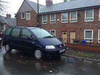 Volkswagon Sharan. Diesel. 7 Seater. MOT OCTOBER. £825!