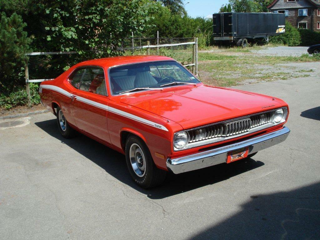 1972 Plymouth Duster  72' Plymouth Duster