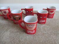 Set 6 Limited Edition Nescafe Cheeky Mug Coffee Mugs - Never Used