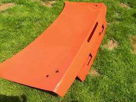 Nissan 200sx S14 Orange Boot Lid Drift