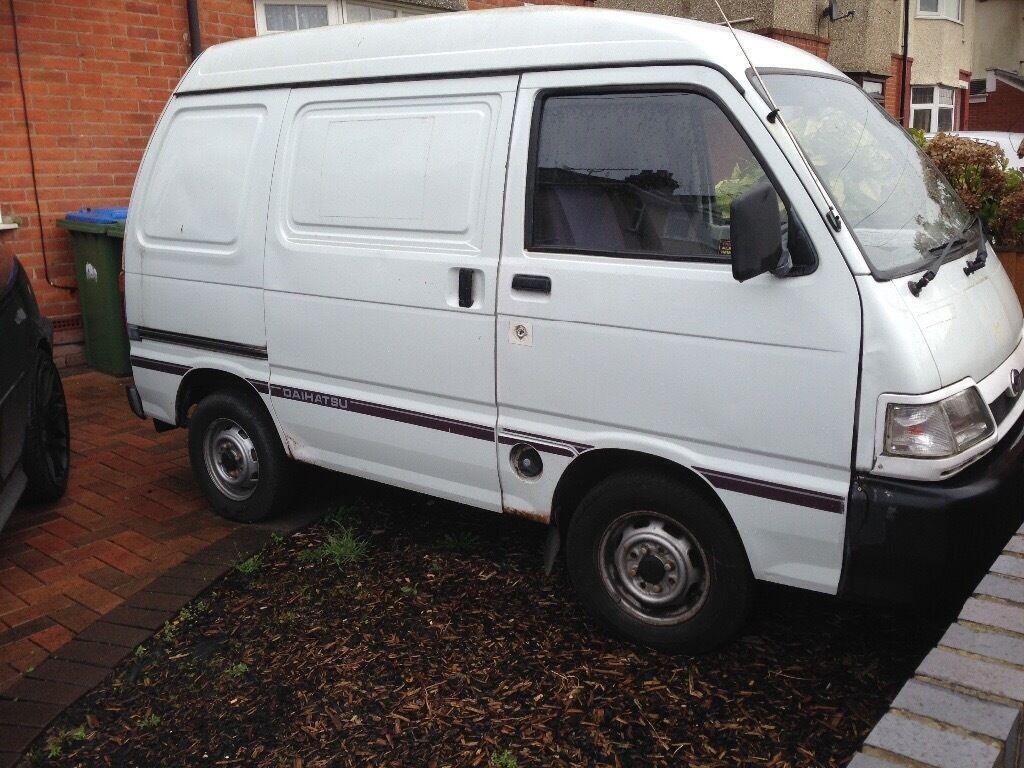 White Daihatsu Hijet Van For Sale
