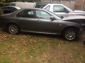 ROVER 75 FACE LIFT BREAKING ALL PARTS EXCEPT ENGINE