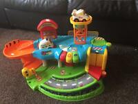 Toy garage vtech toot toot drivers garage