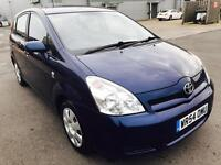 Toyota Corolla Verso, 2004, 7 Seat, 1.8ltr Petrol, SERV.HISTRY, Year Mot, Great Family Car!
